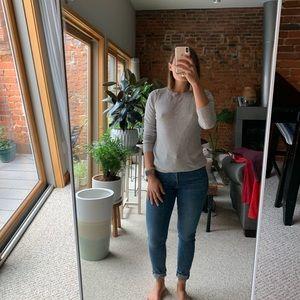 H&M basic long sleeve sweater sz small